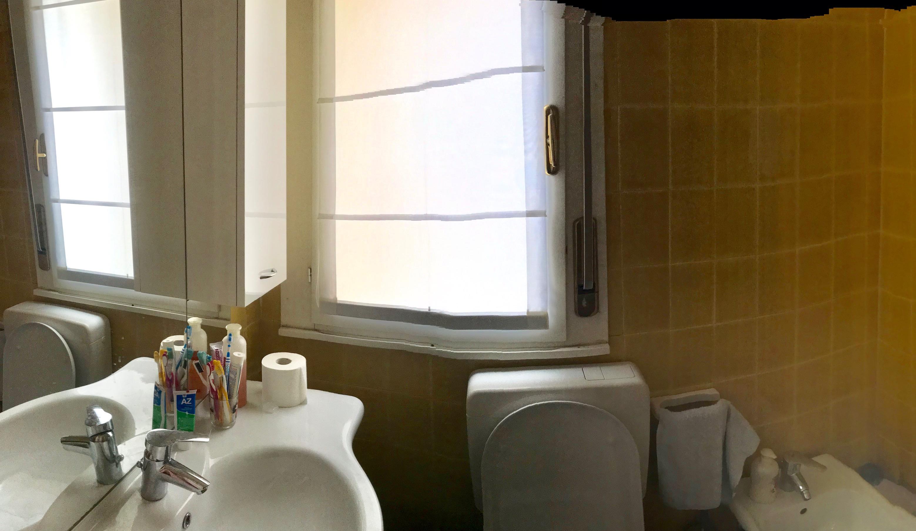 Bagno Senza Bidet Normativa bagno piano 2 con doccia, lavello, bidet e wc - sun